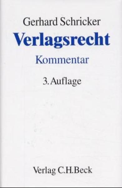 Verlagsrecht als Buch