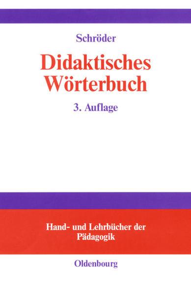 Didaktisches Wörterbuch als Buch