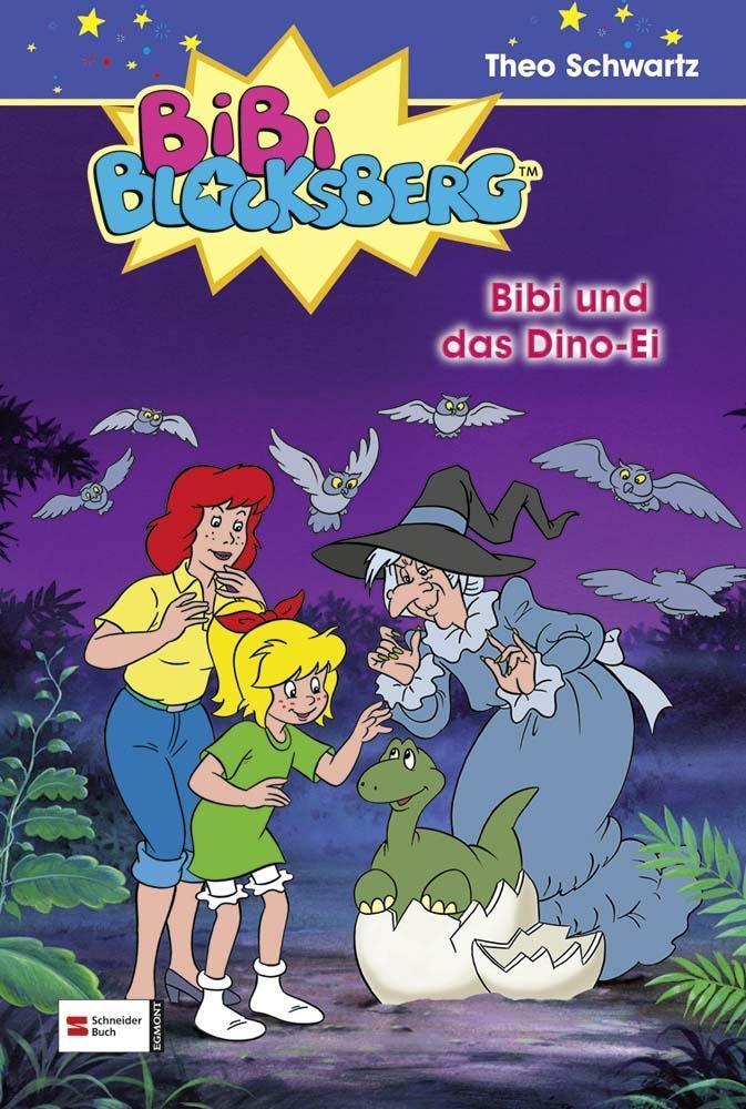 Bibi Blocksberg 04. Bibi und das Dino-Ei als Buch