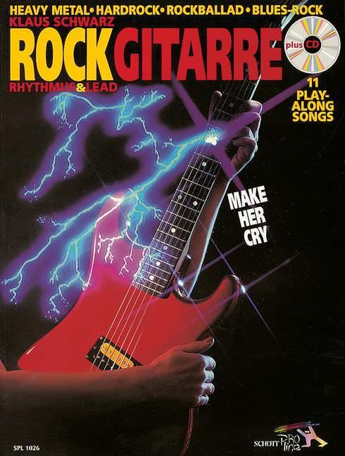 Rockgitarre. Inkl. CD als Buch