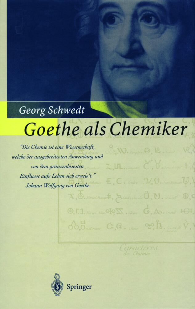 Goethe als Chemiker als Buch