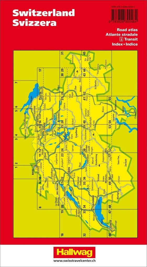 Touring Atlas Schweiz 1 : 250 000 als Buch