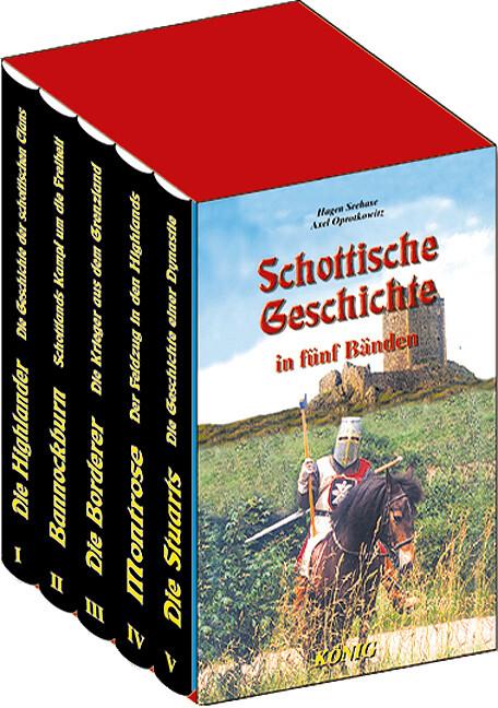 Schottische Geschichte in 5 Bänden als Buch