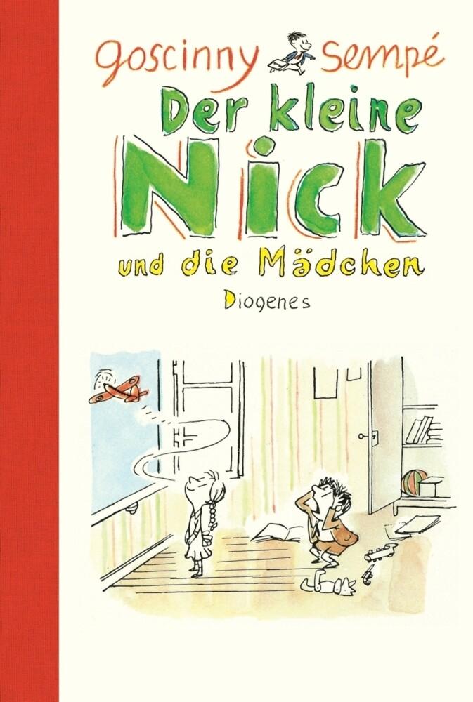Der kleine Nick und die Mädchen als Buch