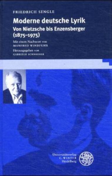 Moderne deutsche Lyrik als Buch