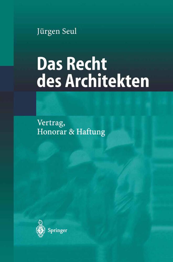 Das Recht des Architekten als Buch