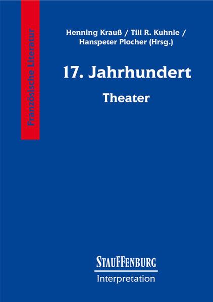 Siebzehntes (17.) Jahrhundert. Theater als Buch