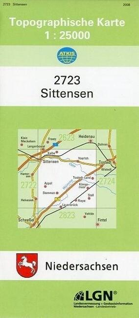 Sittensen 1 : 25 000. (TK 2723/N) als Buch