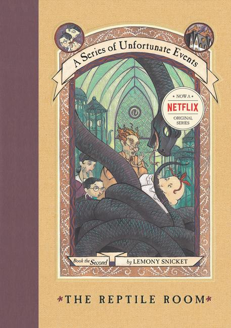 A Series of Unfortunate Events #2: The Reptile Room als Buch