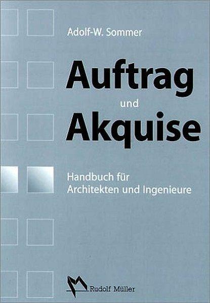 Auftrag und Akquise als Buch