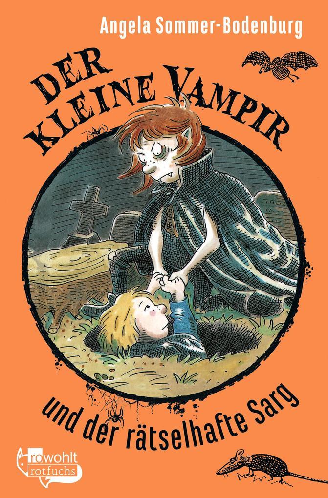 Der kleine Vampir und der rätselhafte Sarg als Taschenbuch