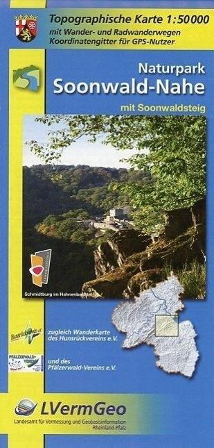 Naturpark Soonwald-Nahe 1 : 50 000 als Buch
