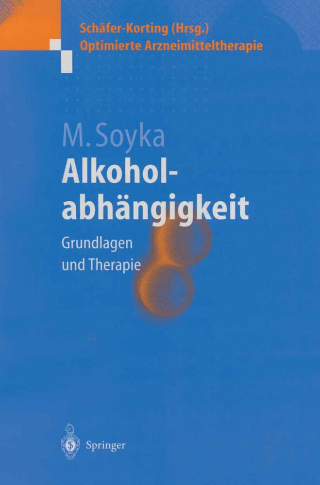 Alkoholabhängigkeit als Buch