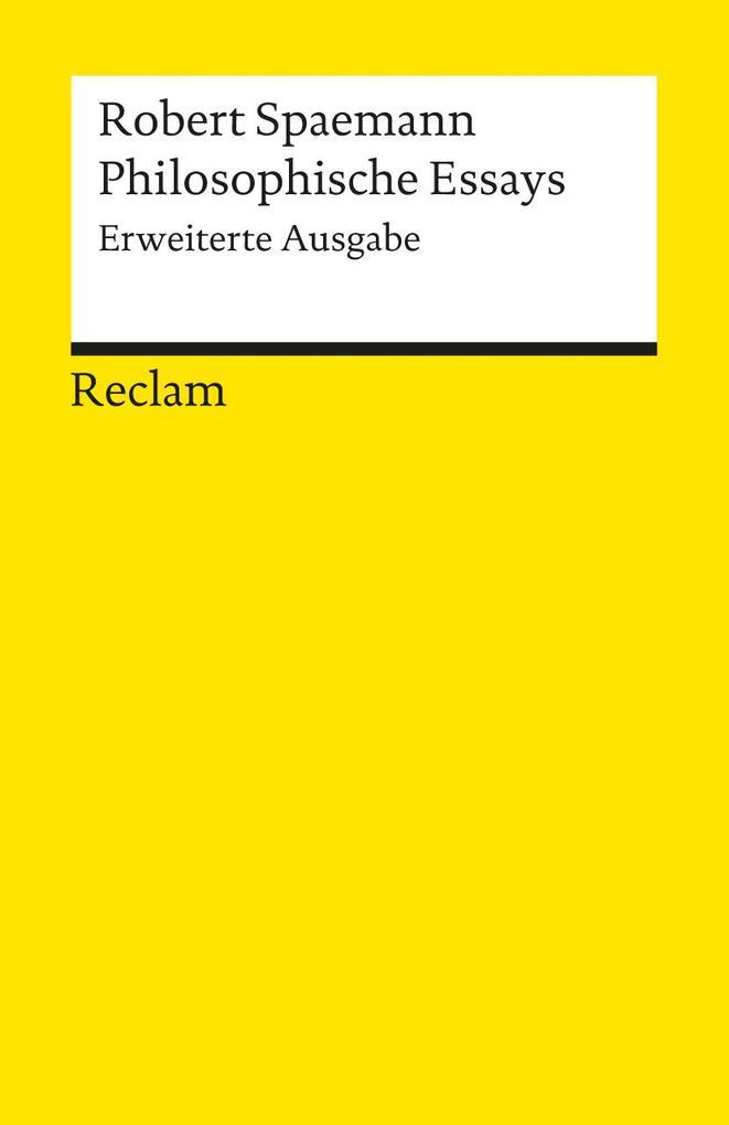 Philosophische Essays als Taschenbuch