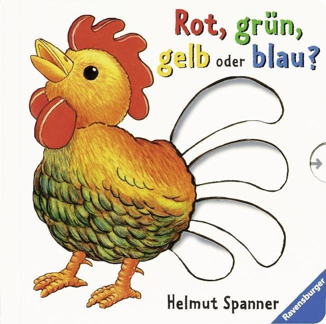 Rot, grün, gelb oder blau? als Buch