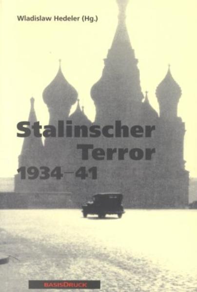 Stalinscher Terror 1934 - 41 als Buch