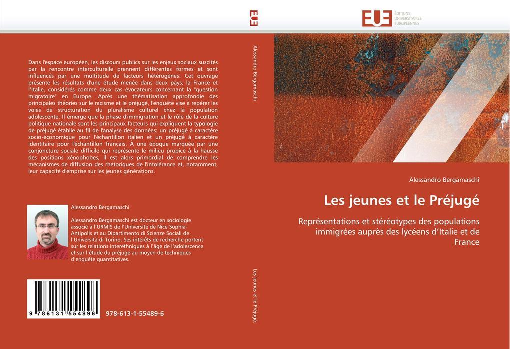 Les jeunes et le Préjugé als Buch von Alessandro Bergamaschi - Editions universitaires europeennes EUE