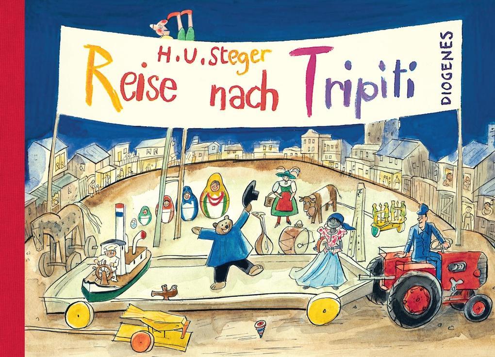 Reise nach Tripiti als Buch