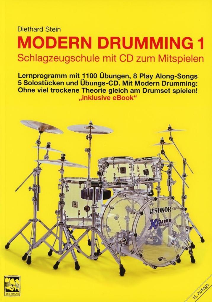 Modern Drumming 1 als Buch