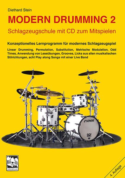 Modern Drumming II. Mit CD als Buch