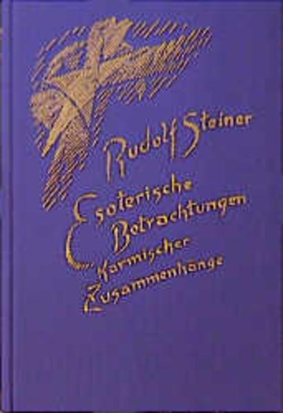 Esoterische Betrachtungen karmischer Zusammenhänge als Buch