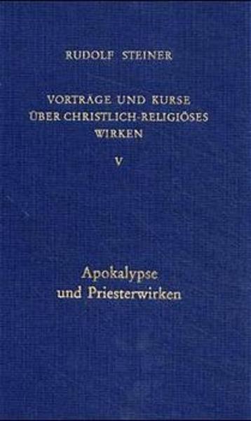 Vorträge und Kurse V über christlich-religiöses Wirken als Buch