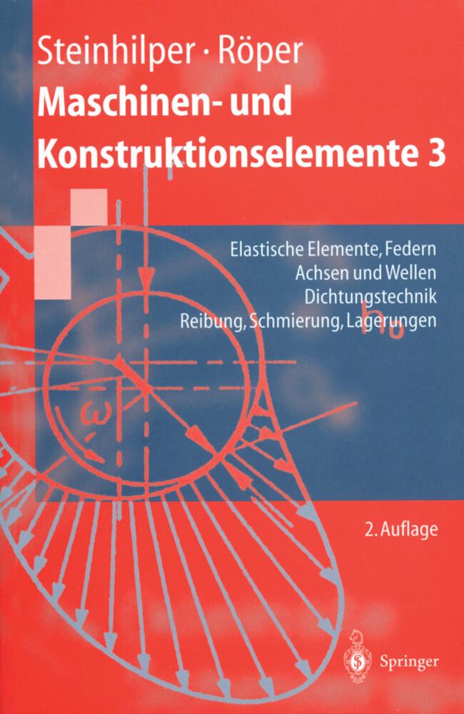 Maschinen- und Konstruktionselemente 3 als Buch