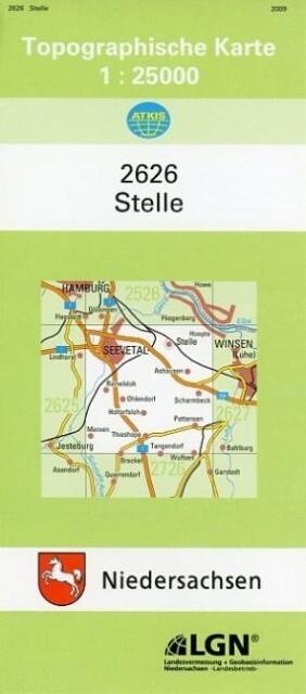 Stelle 1 : 25 000. (TK 2626/N) als Buch