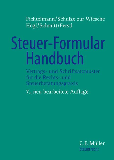 Steuer-Formular-Handbuch. Buch und CD-ROM als Buch