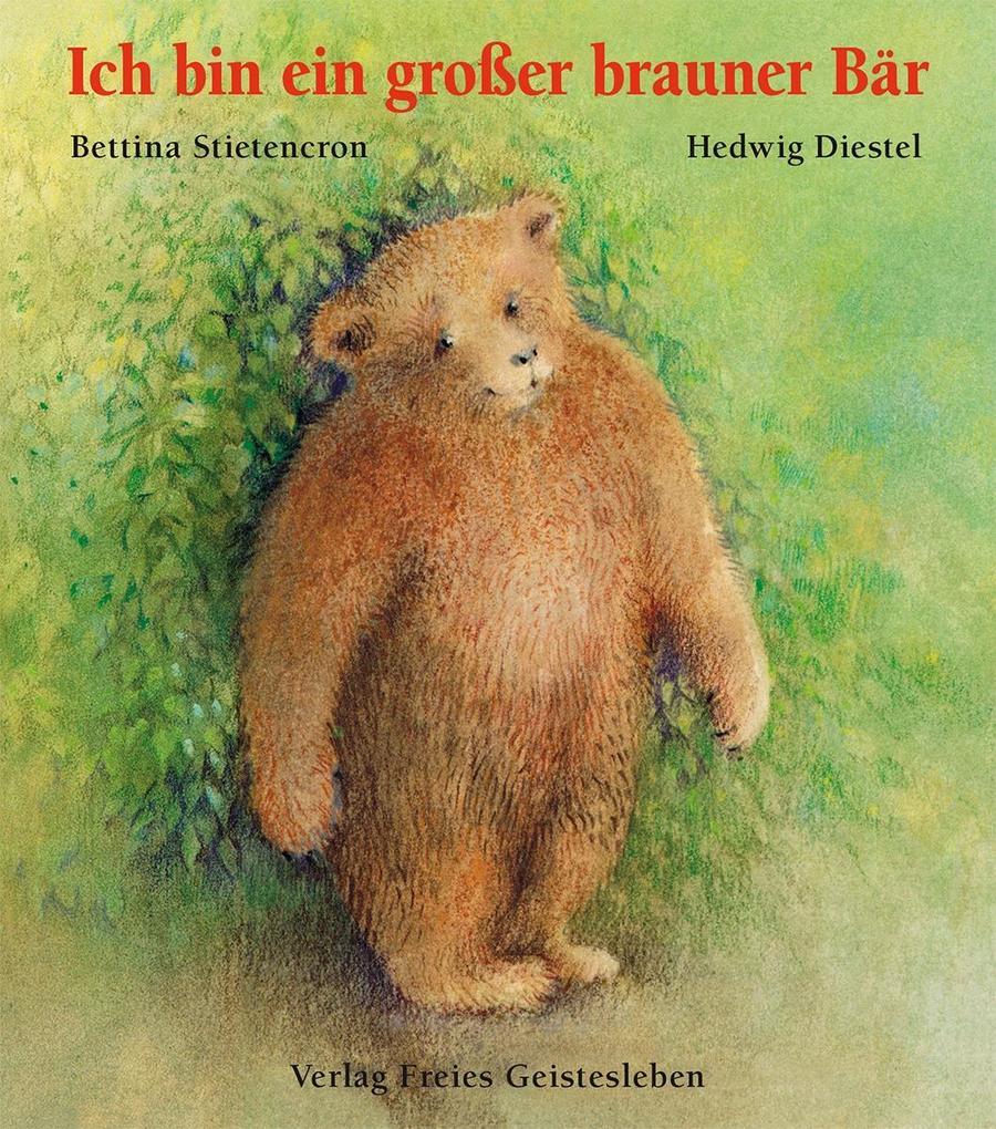 Ich bin ein großer brauner Bär als Buch