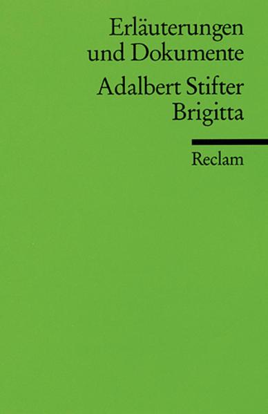 Brigitta. Erläuterungen und Dokumente als Taschenbuch