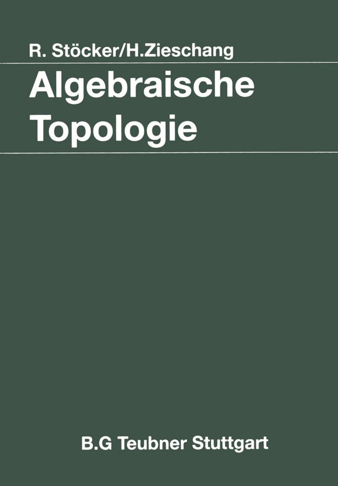 Algebraische Topologie als Buch