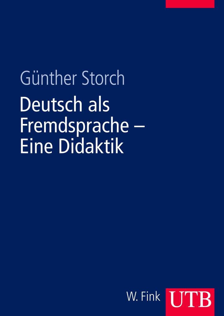 Deutsch als Fremdsprache. Eine Didaktik als Buch