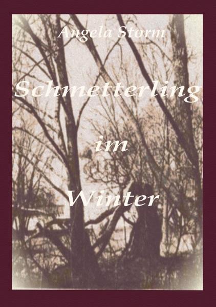 Schmetterling im Winter als Buch