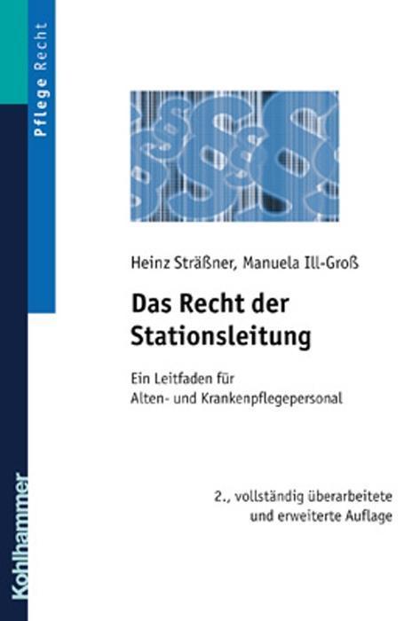 Das Recht der Stationsleitung als Buch