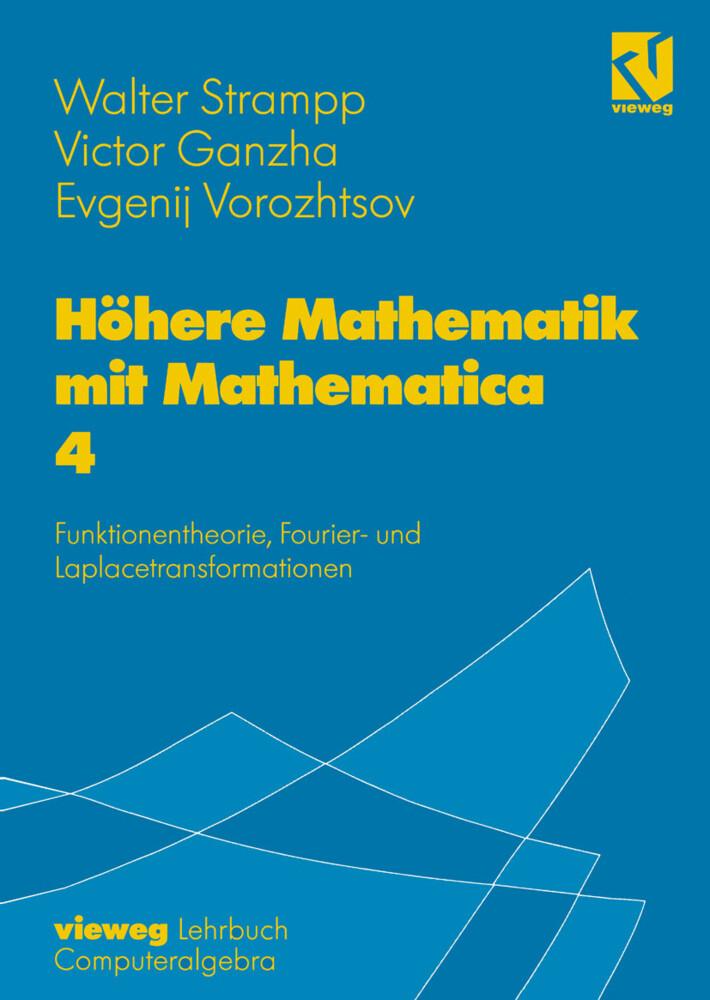 Höhere Mathematik mit Mathematica 4 als Buch