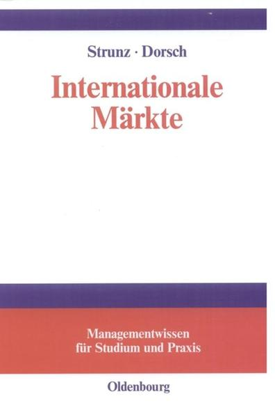 Internationale Märkte als Buch