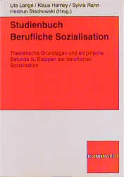 Studienbuch Berufliche Sozialisation als Buch