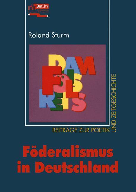Föderalismus in Deutschland als Buch