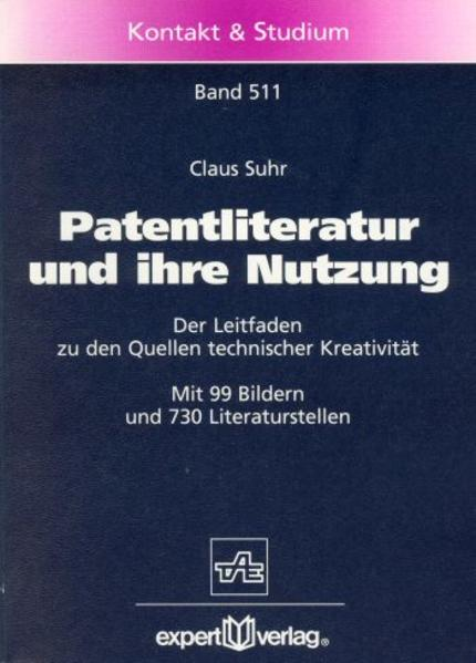 Patentliteratur und ihre Nutzung als Buch
