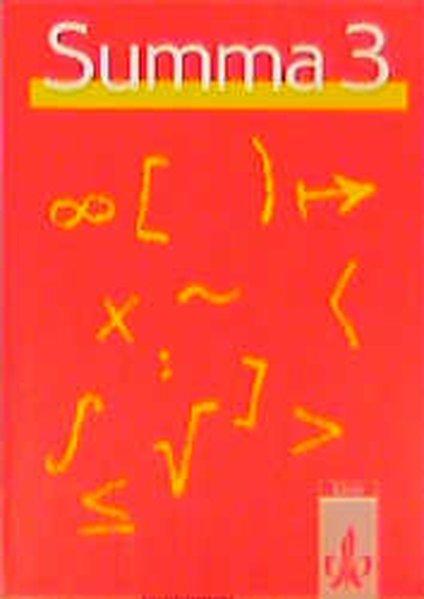 Summa 3 als Buch