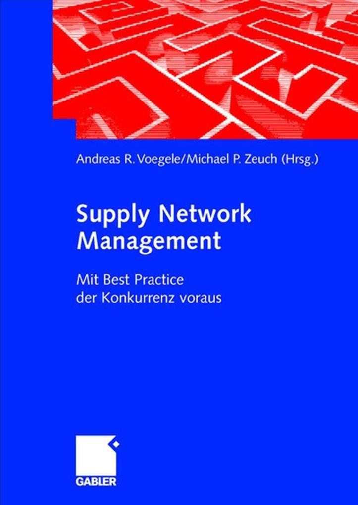 Supply Network Management als Buch