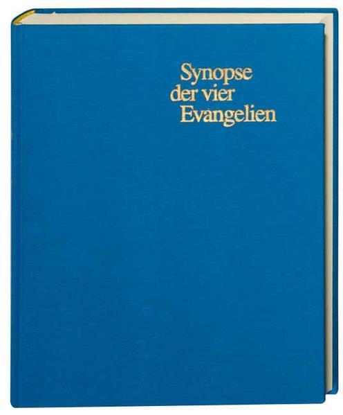 Synopse der vier Evangelien als Buch (gebunden)