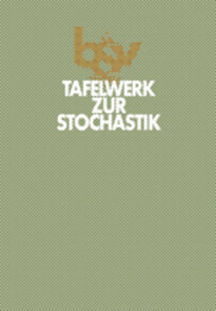 Tafelwerk zur Stochastik als Buch