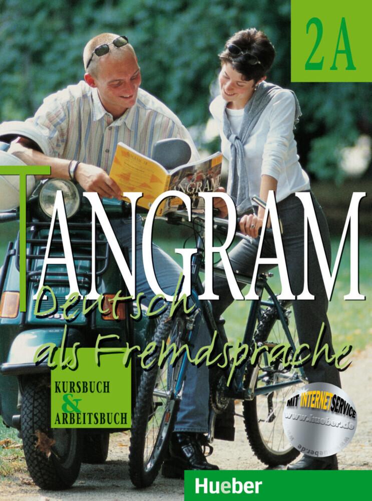 Tangram 2 A. Kursbuch und Arbeitsbuch. RSR als Buch