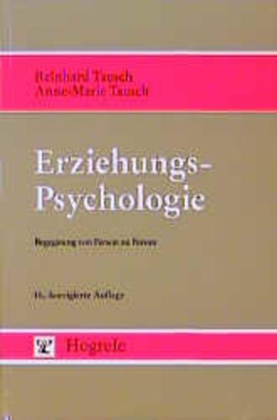 Erziehungspsychologie als Buch