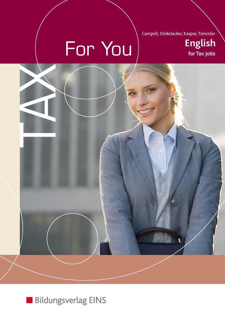 Tax For You als Buch