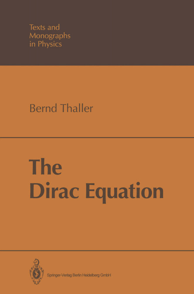 The Dirac Equation als Buch