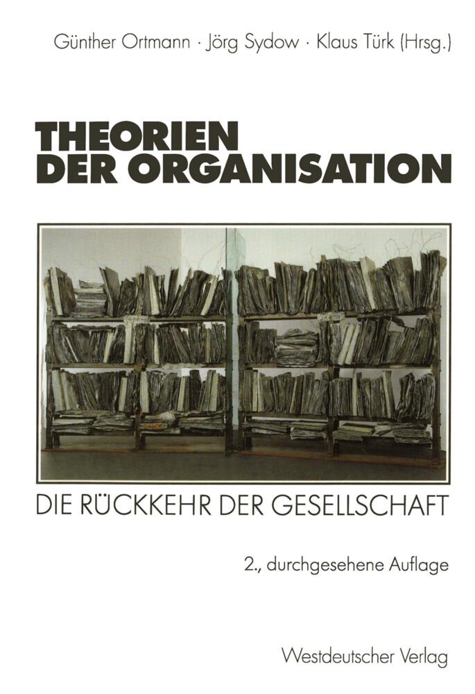 Theorien der Organisation als Buch