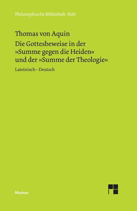 Die Gottesbeweise als Buch